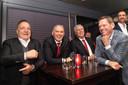 Dick Advocaat, Sjaak Troost of Feyenoord, Cor Pot en Frank Arnesen.