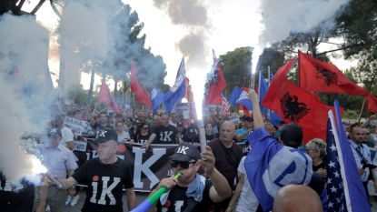 Opnieuw hevige protesten tegen Albanese regering
