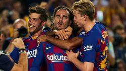 Barcelona na spektakelstuk voorbij Betis, Griezmann scoort twee keer