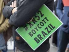 Incendies en Amazonie: une manif devant l'ambassade du Brésil à Bruxelles