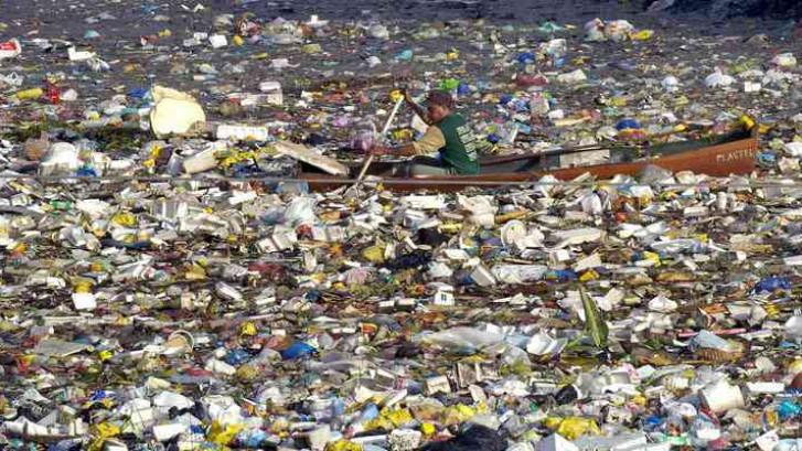 Plastic soep bij Dominicaanse Republiek