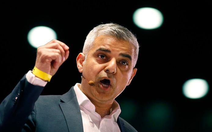 Sadiq Khan, le maire de Londres.