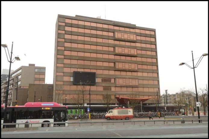 De nieuwe bioscoop zou in de buurt van het station in Nijmegen komen. Op de foto het gebouw van Metterswane.