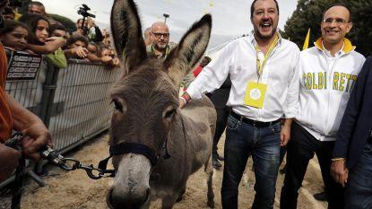 """Salvini: """"Juncker heeft Europa kapot gemaakt"""""""