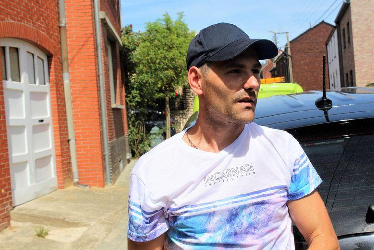 Johny Nijssen kon op tijd met zijn kinderen naar buiten lopen.