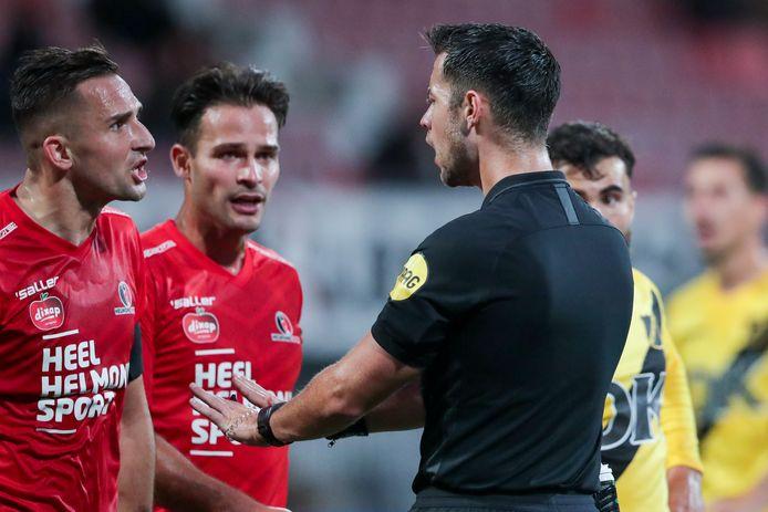 Helmond Sport verloor met 0-2 van NAC.