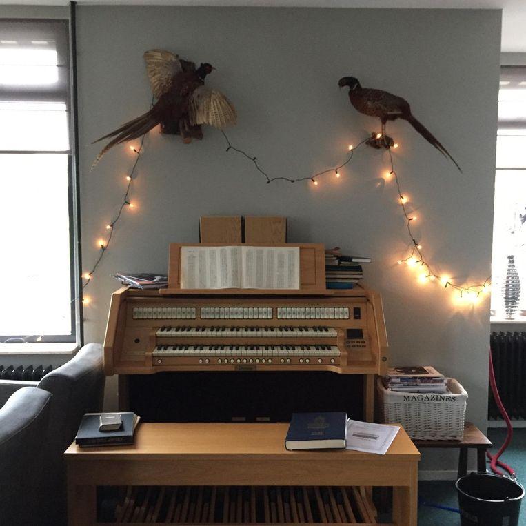'Vroeger was samenzang bij het orgel belangrijk, nu eisen ze gratis wifi.' Beeld