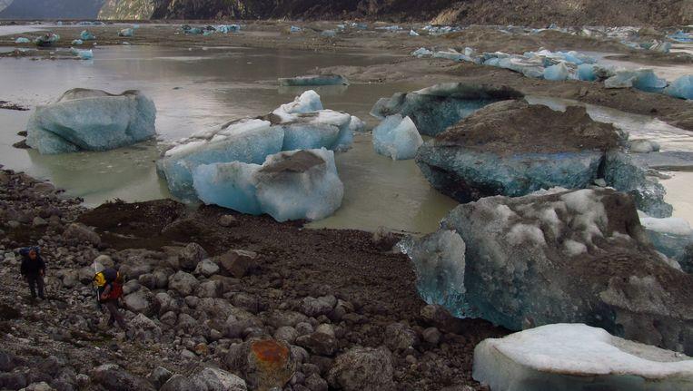Gesmolten ijs. Beeld AFP