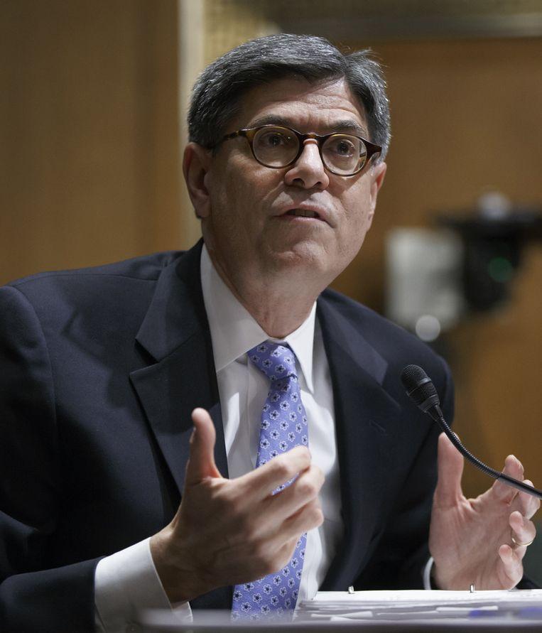 De Amerikaanse minister van Financiën Jacob Lew.