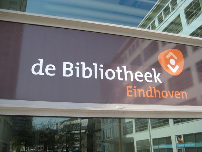 De bibliotheek Eindhoven.
