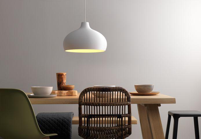 3D-geprinte lampen van Signify.