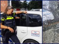 Politieruit vernield in Delft: 'Pech dus, als er iemand gereanimeerd moet worden'