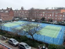 Blijven de tennisbanen van Linnaeushof blauw? 'Het is privéterrein, ik mag doen wat ik wil'