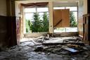 Het verlaten zieken huis waar Sidney voor het laatst is gezien.