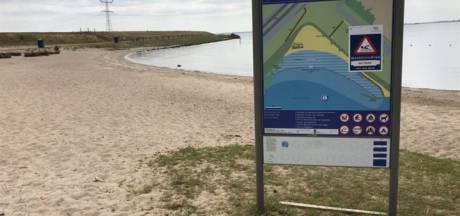 Waarschuwing voor zwemstrand Zwolse Hoek: Klachten op de loer door te veel bacteriën