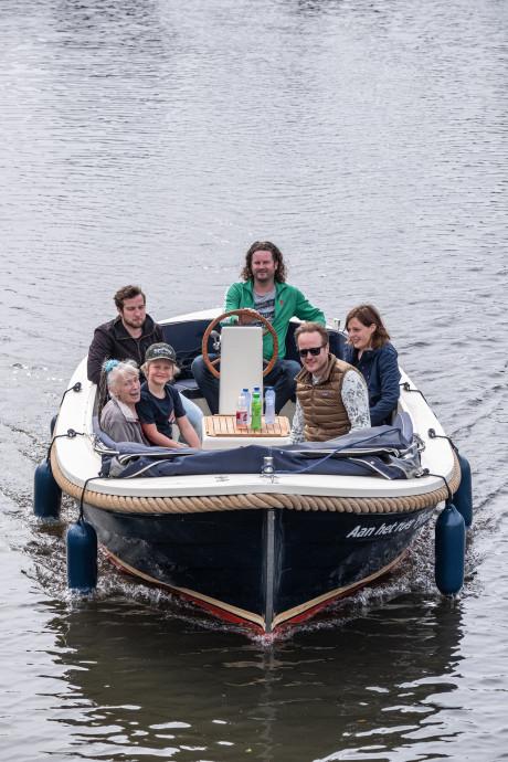 Anneke mocht na overval als troost een dagje varen op de Eem: 'Niet alle mensen zijn slecht'