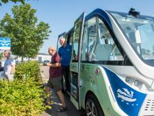 Passagiers  over  zelfrijdend busje: 'Prachtig om in het vervoer van de toekomst te rijden'