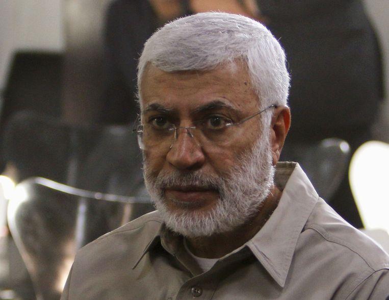 Vicecommandant van de militiegroepering Popular Mobilization Forces Abu Mahdi al-Muhandis, die bij de aanval op het vliegveld van Bagdad zou zijn omgekomen. Beeld REUTERS