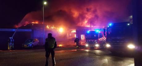 Nieuwbouw bedrijven na brand in Tubbergen