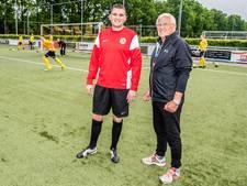 Vader en zoon Van Vugt op promotiejacht met Unitas'30: 'Al weken met deze wedstrijd bezig'