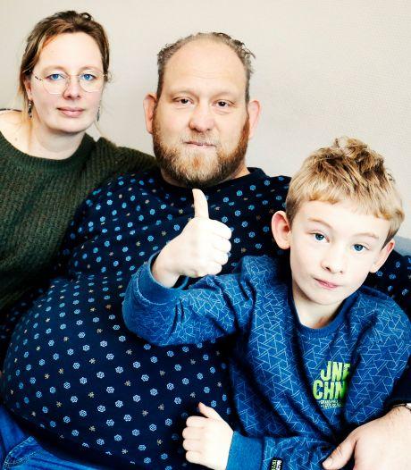 Arno (45) zoekt een donornier: 'Ik wil graag nog met mijn zoontje kunnen spelen'