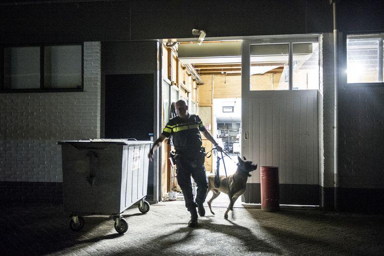 De politie in Ede. Beeld Koen Verheijden