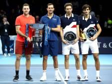 Dubbeltitel bij ATP Finals voor Amerikanen Sock en Bryan