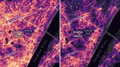 Nieuwe satellietbeelden brengen afname van lucht- én lichtvervuiling in kaart