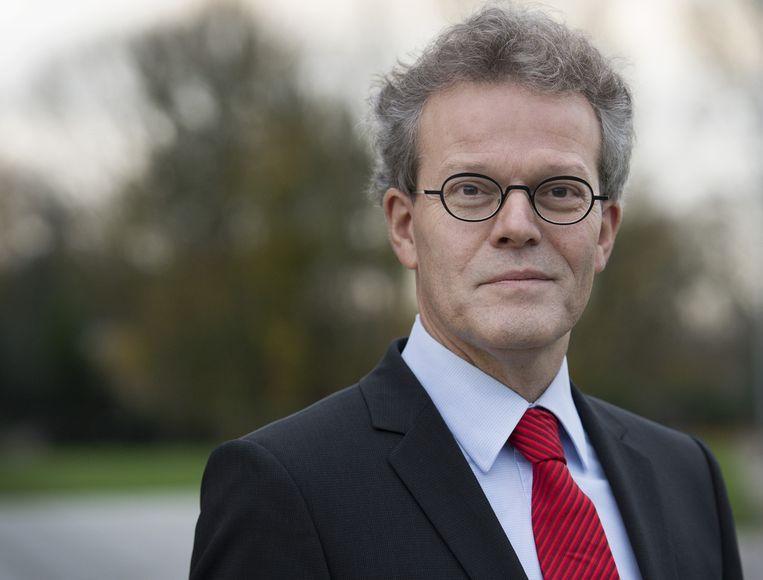 Rob van Lint, de directeur van de Immigratie- en Naturalisatiedienst Beeld anp