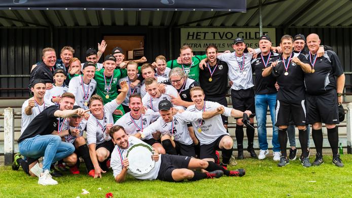 Ook TVO gaat naar de derde klasse. De club uit Beckum werd kampioen van de vierde klasse B.