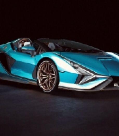 Lamborghini dévoile la Sián Roadster, un cabriolet hybride à 2,5 millions d'euros