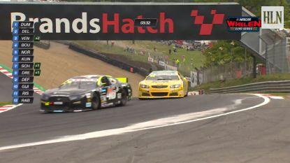 Technische problemen voor Anthony Kumpen op het Brands Hatch Circuit, Tom Boonen grijpt naast top tien