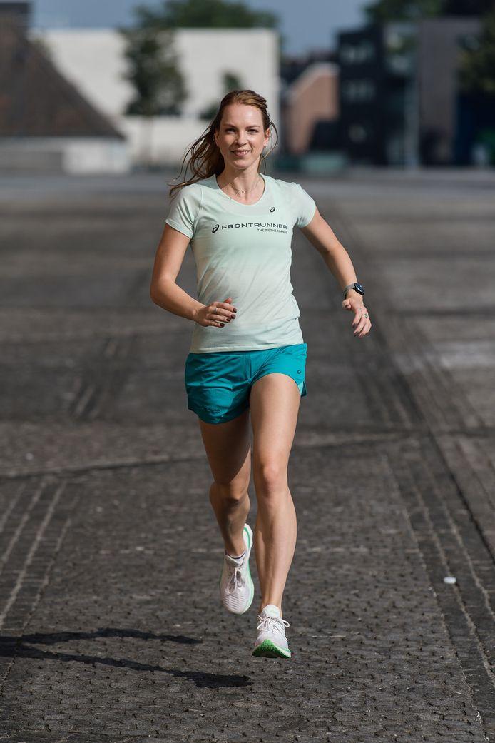 Emma van Geel verheugt zich op de Singelloop.