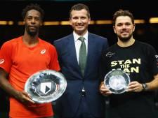 Monfils houdt Wawrinka van tweede titel in Rotterdam