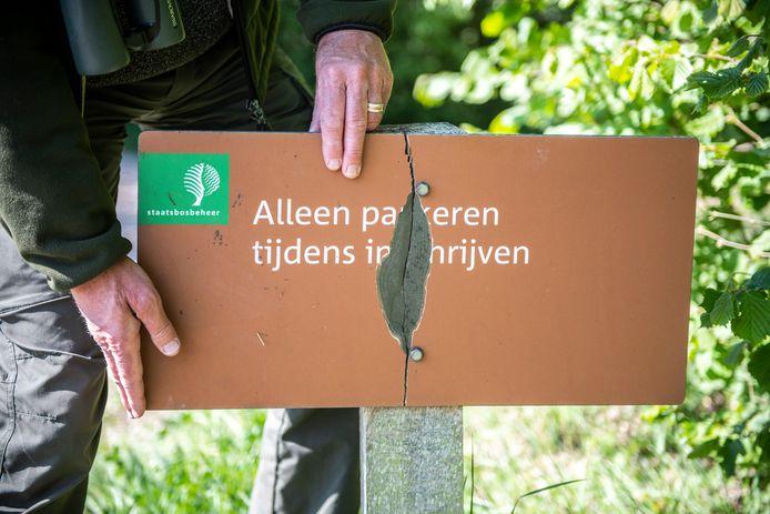 Op natuurkampeerterrein Het Veerse Gat wordt veel vandalisme gepleegd.