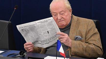 Oud-voorzitter van Front National Jean-Marie Le Pen in staat van beschuldiging gesteld