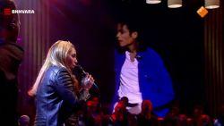 Beklijvend: Glennis Grace in duet met 'overleden' Michael Jackson