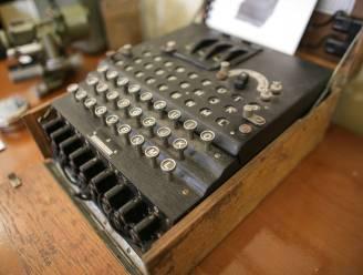 Zes Enigma-codeermachines uit WOII geborgen uit Oostzee