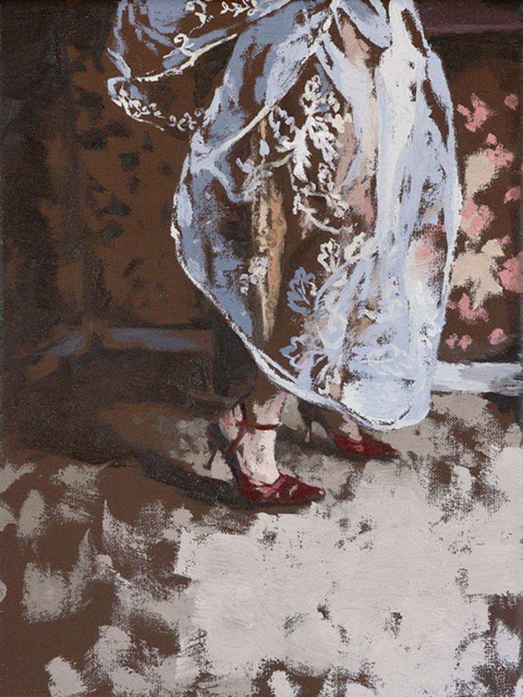 'Meisje met de kanten jurk'.