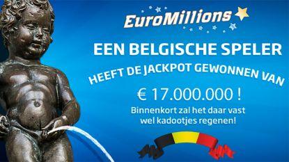 Belg wint jackpot van 17 miljoen euro met EuroMillions