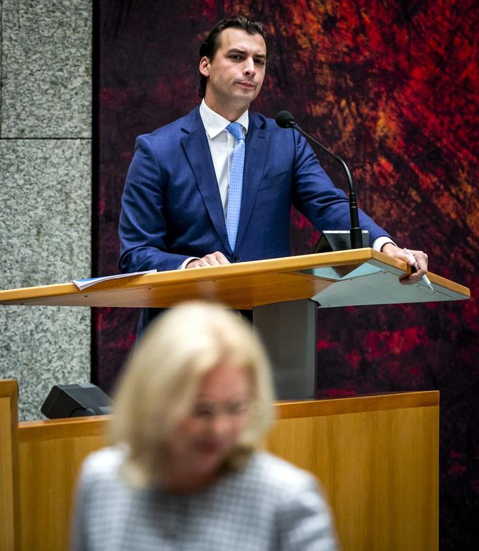 De partij van Thierry Baudet, Forum voor Democratie, doet volgend jaar mee aan de provinciale Statenverkiezingen.