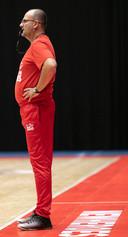 """Ivica Skelin is de nieuwe coach van New Heroes. ,,Ik heb hier in Nederland in drie jaar geen wedstrijd gezien, moest alles in de krant lezen."""""""