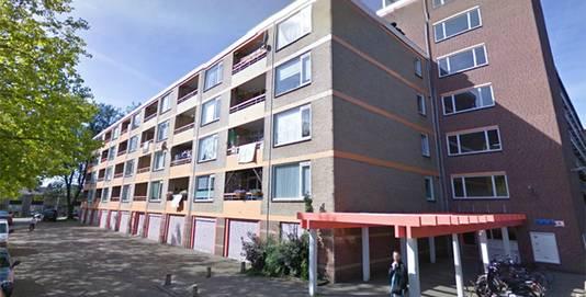 Een van de flats Arendshorst in de Amersfoortse wijk Liendert