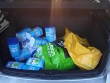 Man aangehouden in Geldrop na vondst 20 pakken babyvoeding in auto