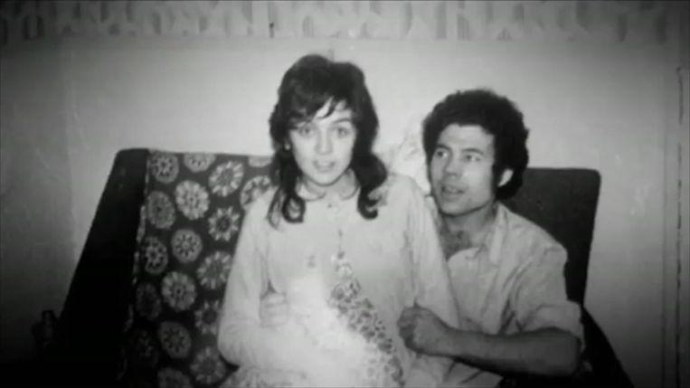 Een foto van Rose en Fred West als jong koppel.