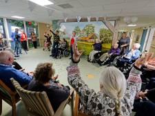 Verpleeghuis Herickhave in Hengelo ziet zilver en viert week lang feest