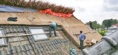 Uitbater Herberg van Boxtel in Haaren overweldigd door reacties op nieuwe rieten dak