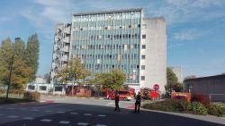 Veel rook bij brand in UZ Gent