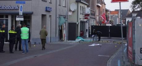Plofkraak op pinautomaat in Kaatsheuvel, ruiten naastgelegen panden gesneuveld