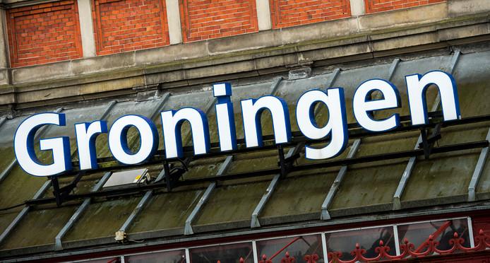 Centraal station in Groningen